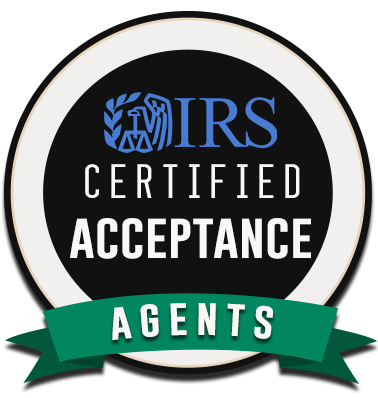 IRS ACCEPTANCE AGENT